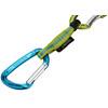 Edelrid Pure Slim express set 12 cm groen/turquoise